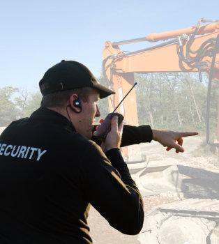 security on duty
